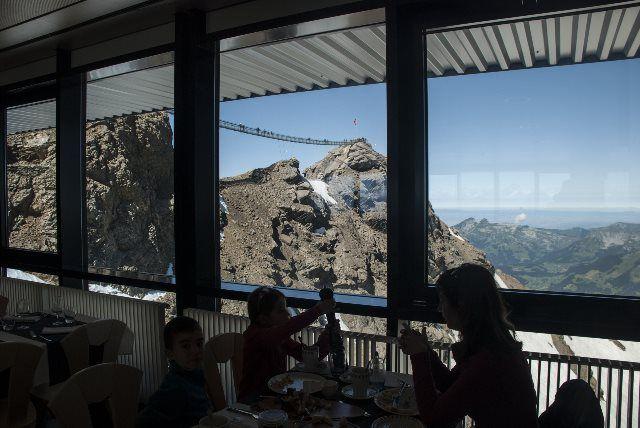 Peak Brunch en el Glacier 3000