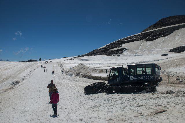 Snow Bus en Glacier walk