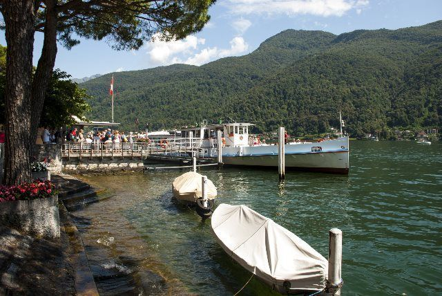 Barcas de Morcote