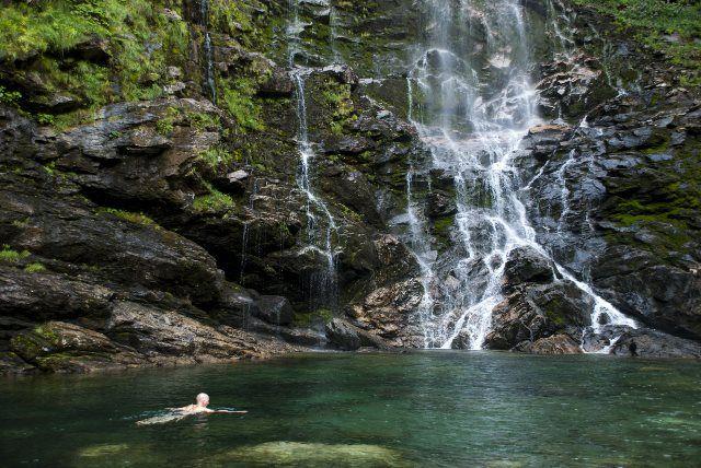 Cascada de Froda en Sonogno