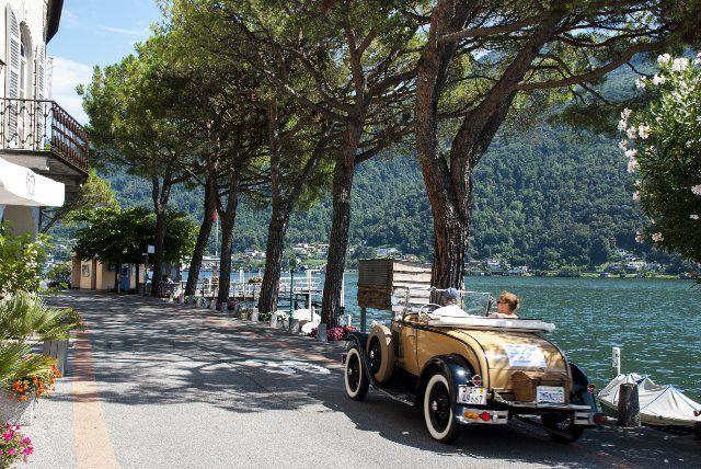 Lujo y glamour en el lago Lugano