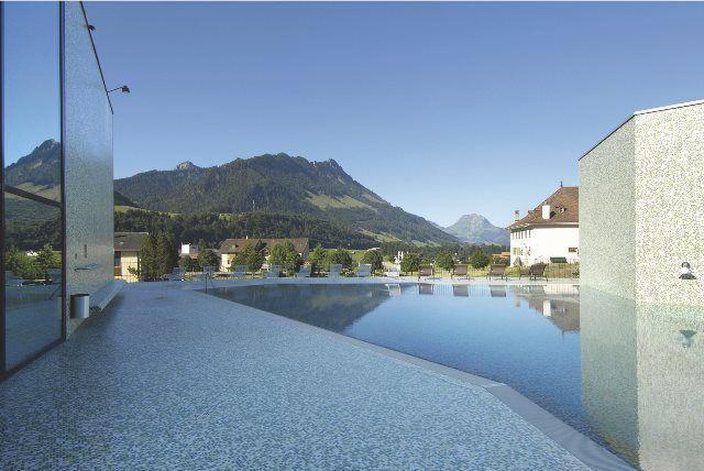 Bains de la Gruyère: relax a la suiza