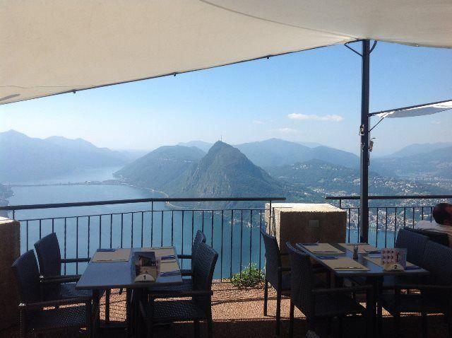 Terraza del restaurante Vetta
