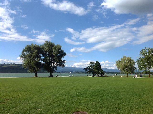 vacaciones en el lago Murten