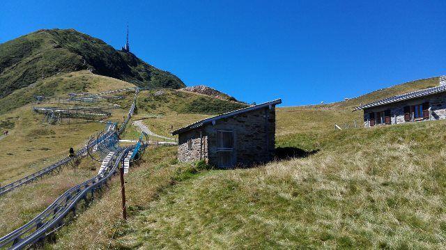 Circuito del tobogán de montaña de Monte Tamaro