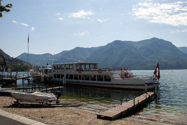 Embarcadero de Lugano