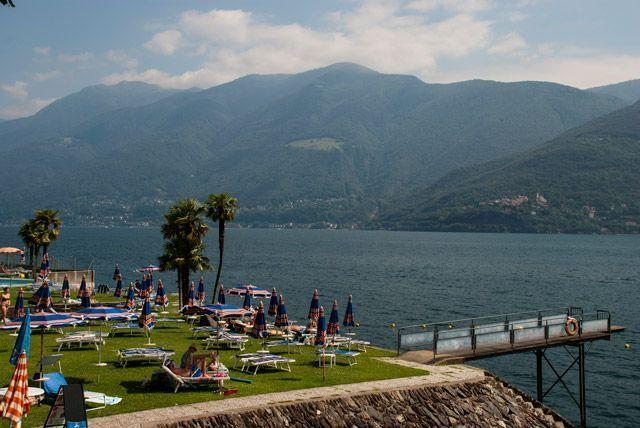 Playas del lago Maggiore: el paraíso tropical de Suiza