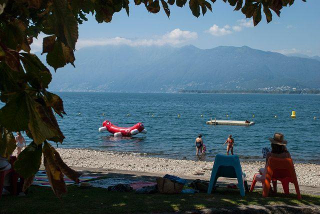 Playas del lago Maggiore
