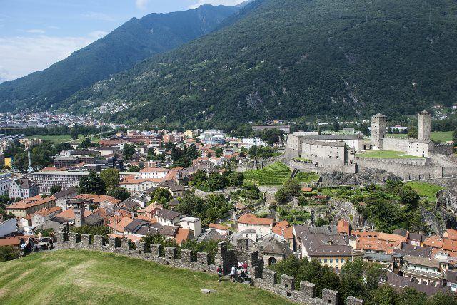 Vistas de Castelgrande