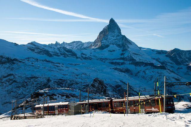 Viaje en tren por Suiza con Swiss Travel System