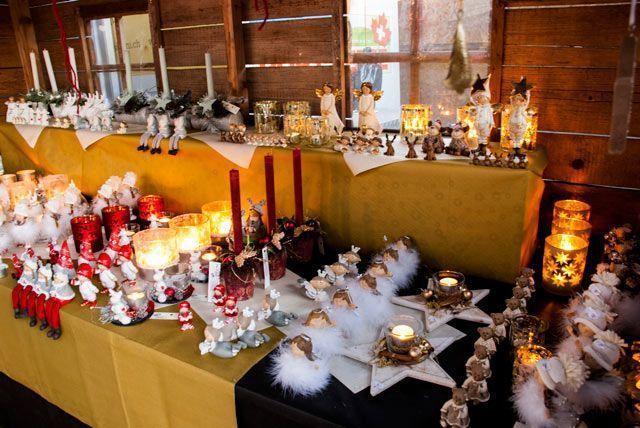 Adornos navideños en Thun