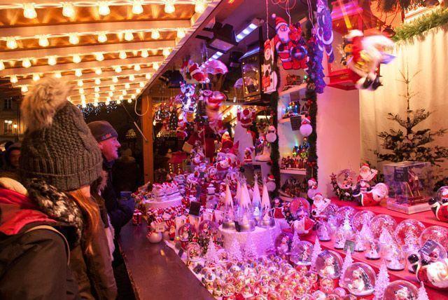 Cientos de puestos en el Mercado de Navidad de Estrasburgo