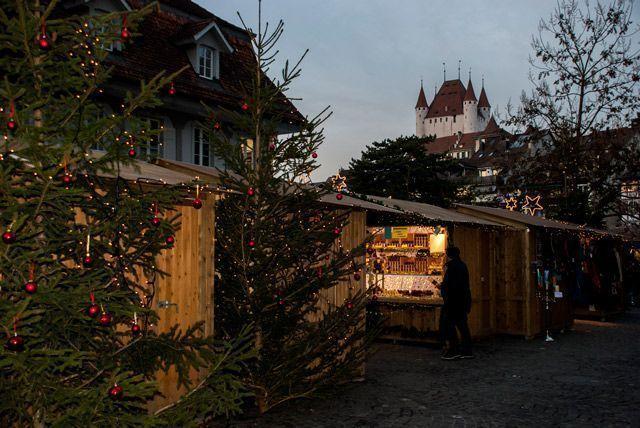 El castillo desde la Waisenhausplatz