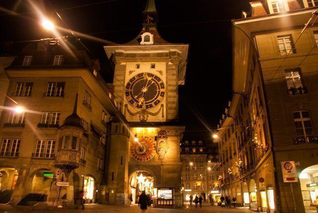 La torre del Reloj de Berna
