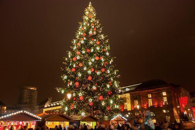Mercado de Navidad de la Plaza Kleber