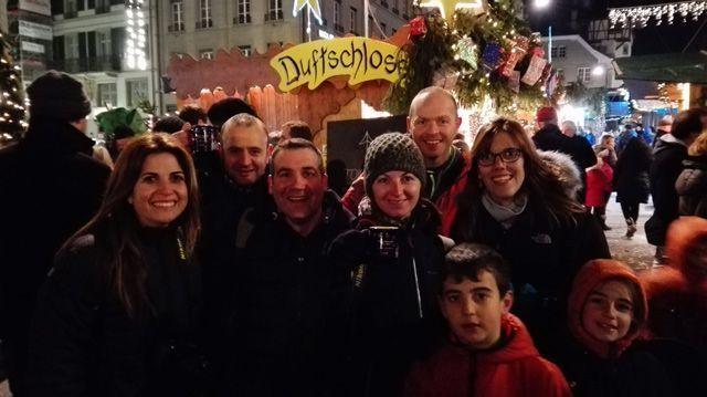 Mercado de Navidad en Berna con los amigos