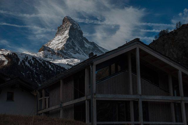 Situación ideal del Hotel Matterhorn Focus