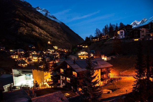 Zermatt desde el hotel