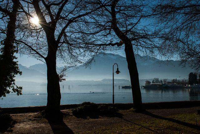 Lago Thun desde el hotel