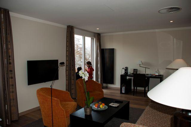 Suite del hotel Seepark Thun