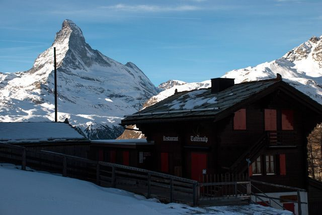 El Matterhorn desde Tufteren