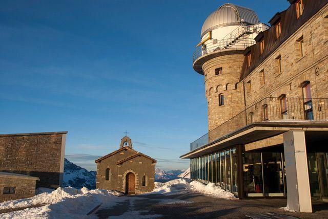 La capilla del Gornergrat