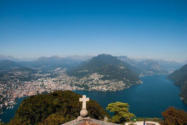 Lago Lugano de ensueño
