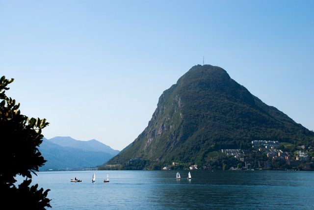 Monte San Salvatore desde Cassarate