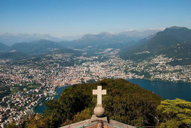 Panorámica de Lugano
