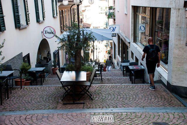 calles de Lugano