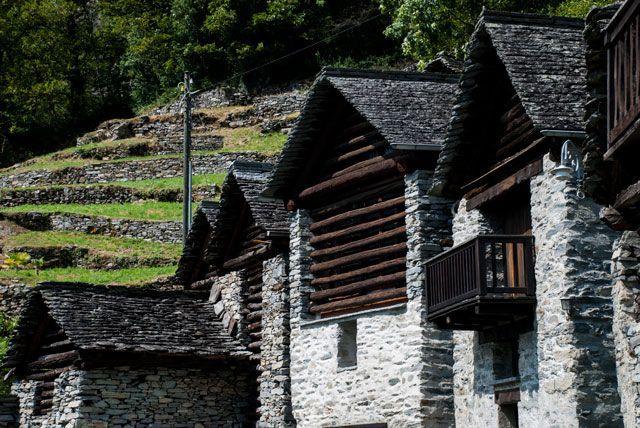 Casas típicas de Brontallo