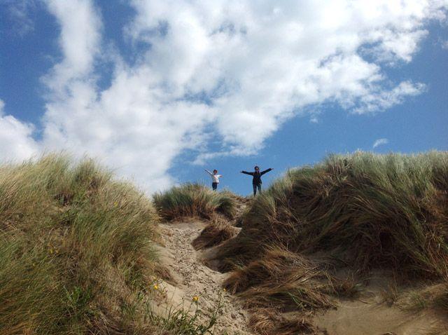 Dunas en las islas frisias