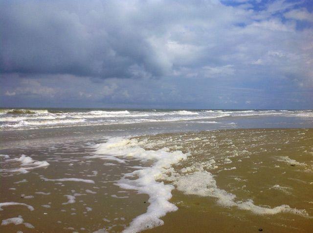 El Mar del Norte en Ameland