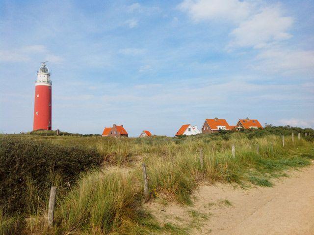 Entorno mágico en el faro de Texel