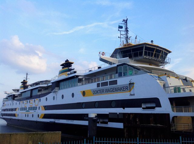 Ferry TESO hacia Texel