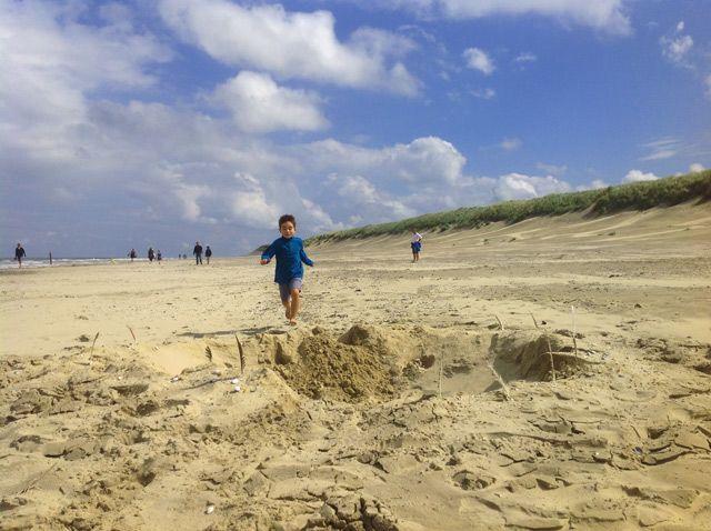 Playas infinitas de Ameland