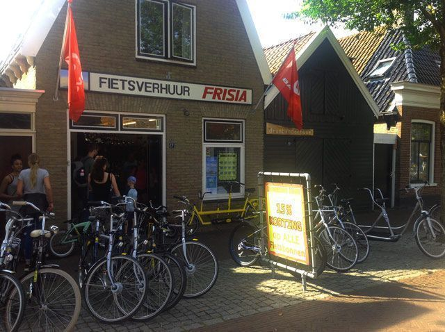 Alquiler de bicicletas en Vlieland