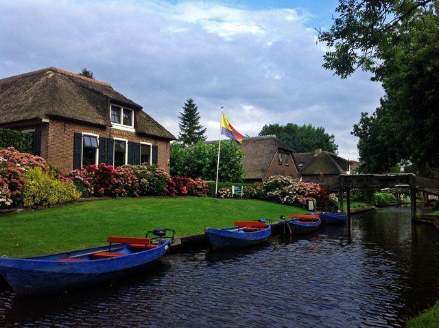 Barcas de Giethoorn