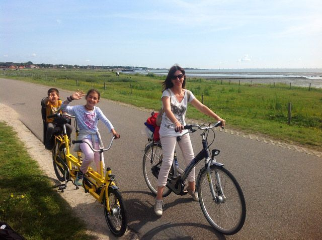 Bicicletas en Vlieland