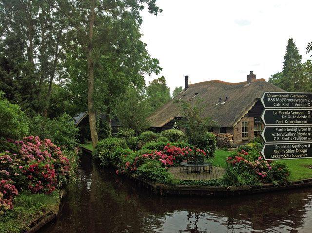 Casas de Giethoorn