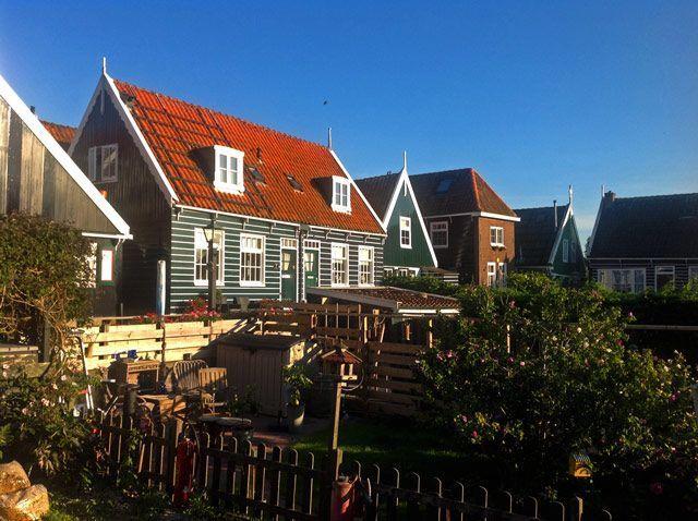 Casas tradicionales de Marken