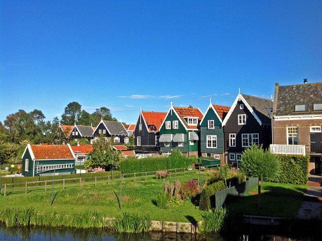 Marken: la belleza del norte de Holanda