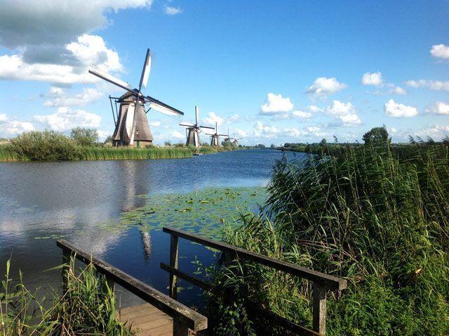 Embarcadero en Kinderdijk