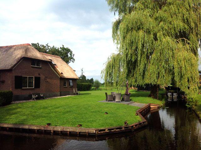 Jardines de ensueño en Giethoorn