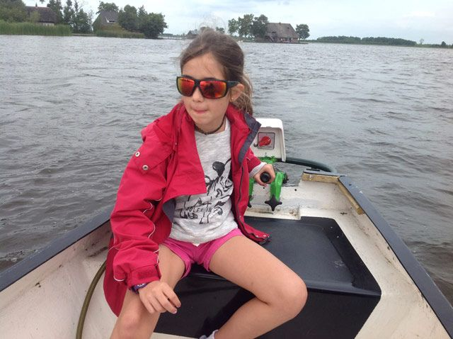 La patrona de la barca