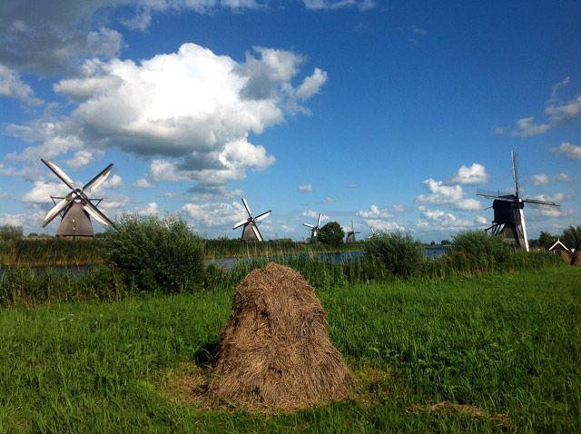 Paisaje rural Holanda