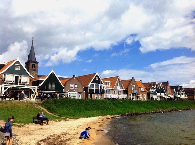 Panorámica de Volendam