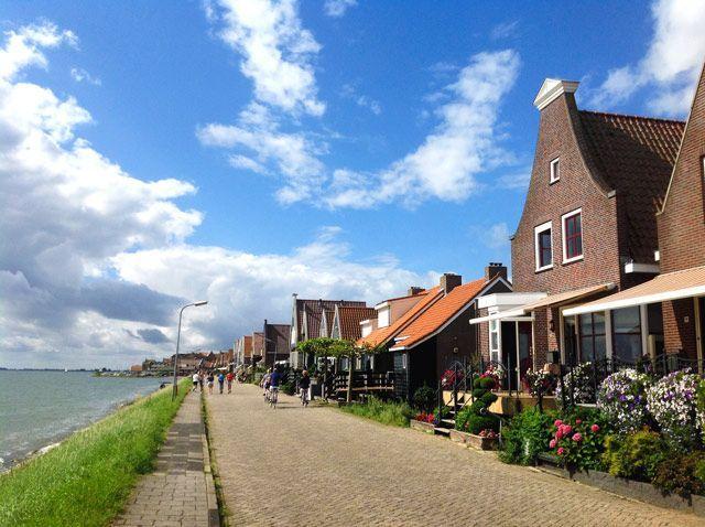 Paseo marítimo de Volendam