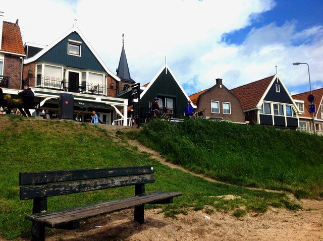 Vista de Volendam
