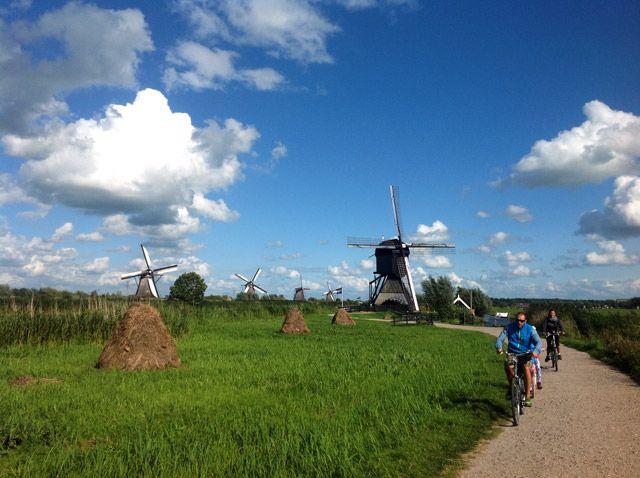 bicicletas en Kinderdijk